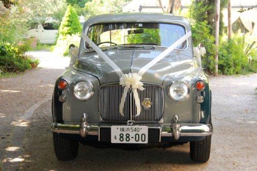 英国スタイル ウェディングカー(Wedding Car)の画像