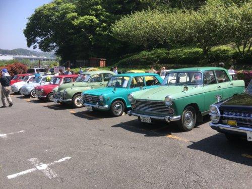 横須賀ヒストリックカーデイのモーリス車4台。(Morris Motors Ltd)の画像