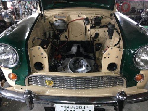 オースチン-ヒーレー100の心臓を持つ オースチンA90の画像